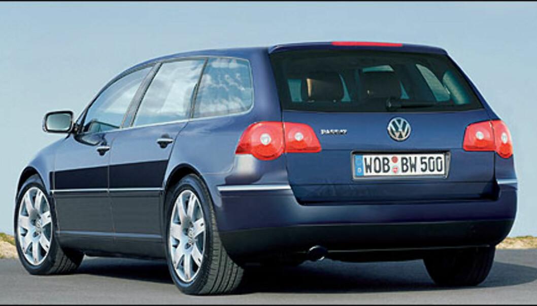 Volkswagen Passat Variant (bildet er manipulert).
