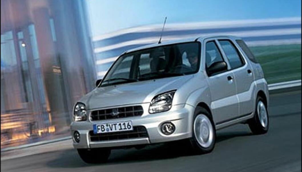 Store bilder: Subaru Justy