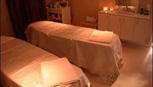 Egobehandling for to i spa-avdelingen på Holmsbu Spa og Hotell.