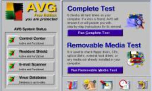 AVG Anti-virus er både funksjonsrikt og gratis.