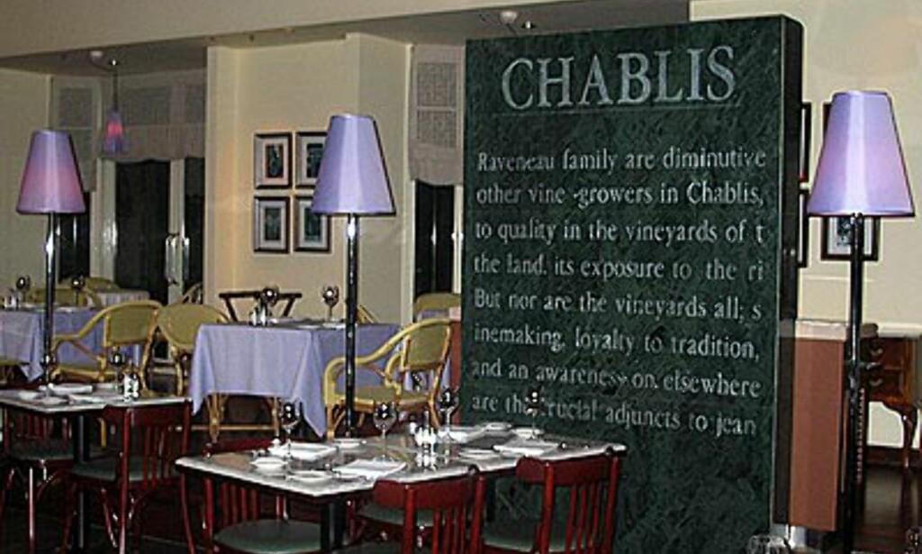 Den flotte restauranten i kjelleren på Mutiara. Sjekk marmoren.