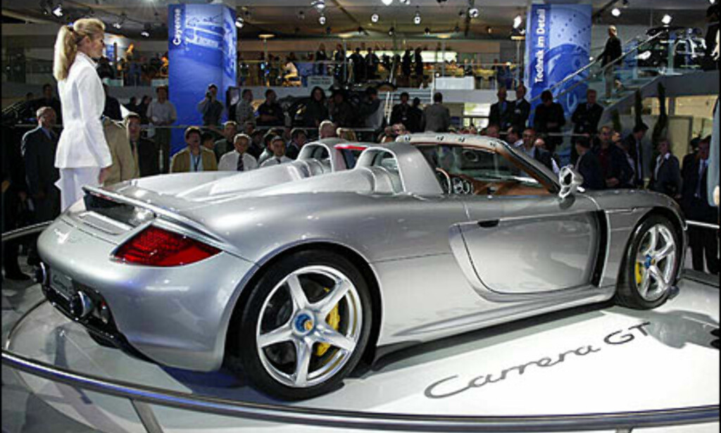 image: Porsche Carrera GT