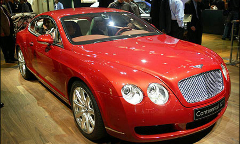 image: Bentley Continental GT