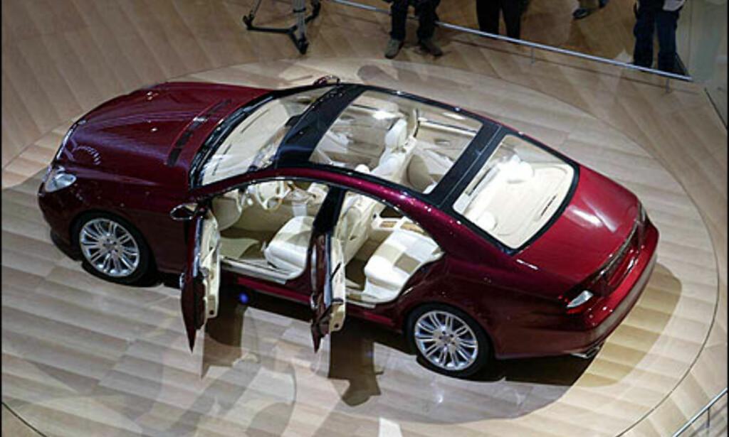 image: Mercedes Vision CLS