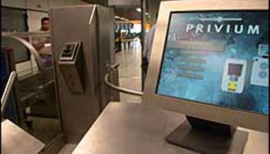 Privium kaller Schiphol sitt identifikasjonssystem, som er basert på irisskanning.