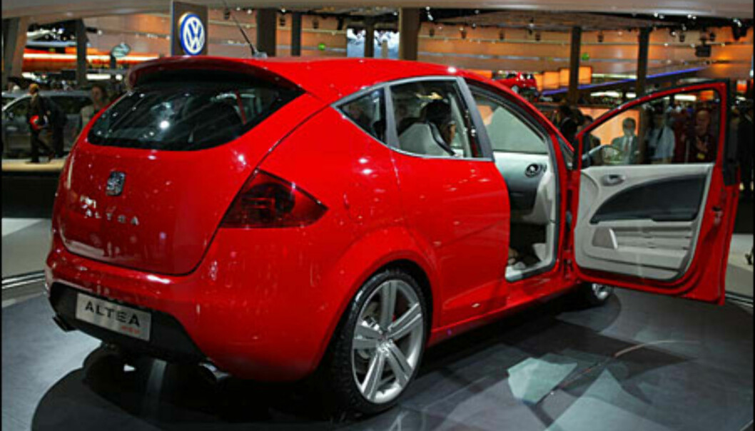 Seat Altea - prototype