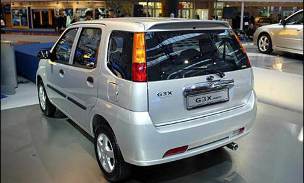 image: Subaru Justy