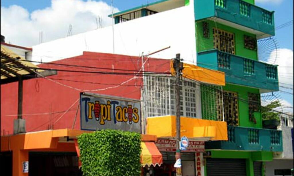 Mexicanerne elsker farger! Foto: Lene Heiberg