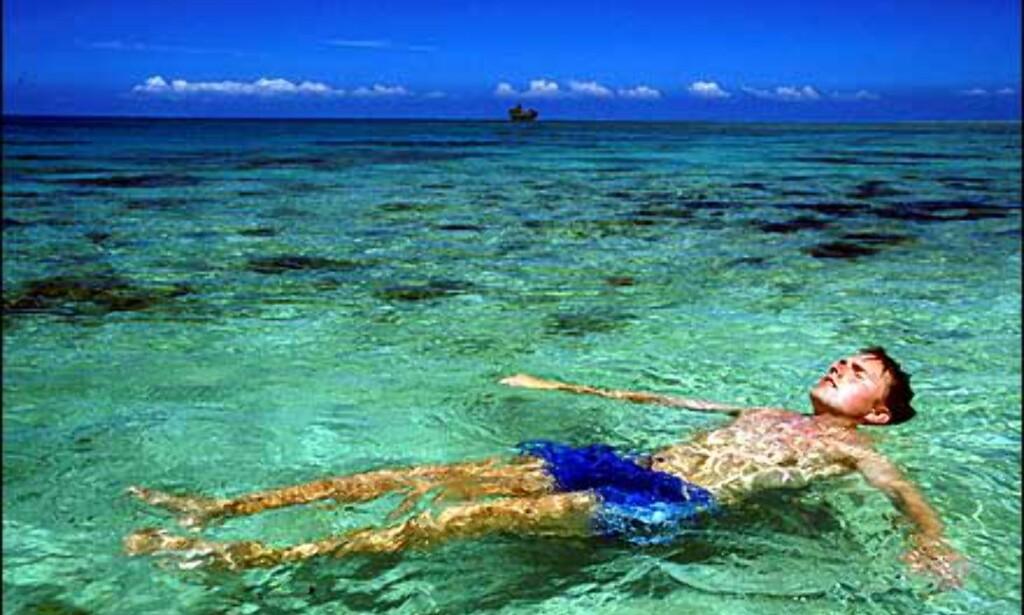 Fristende badevann på Fiji. Foto: Kjersti Djupvik Foto: Kjersti Djupvik
