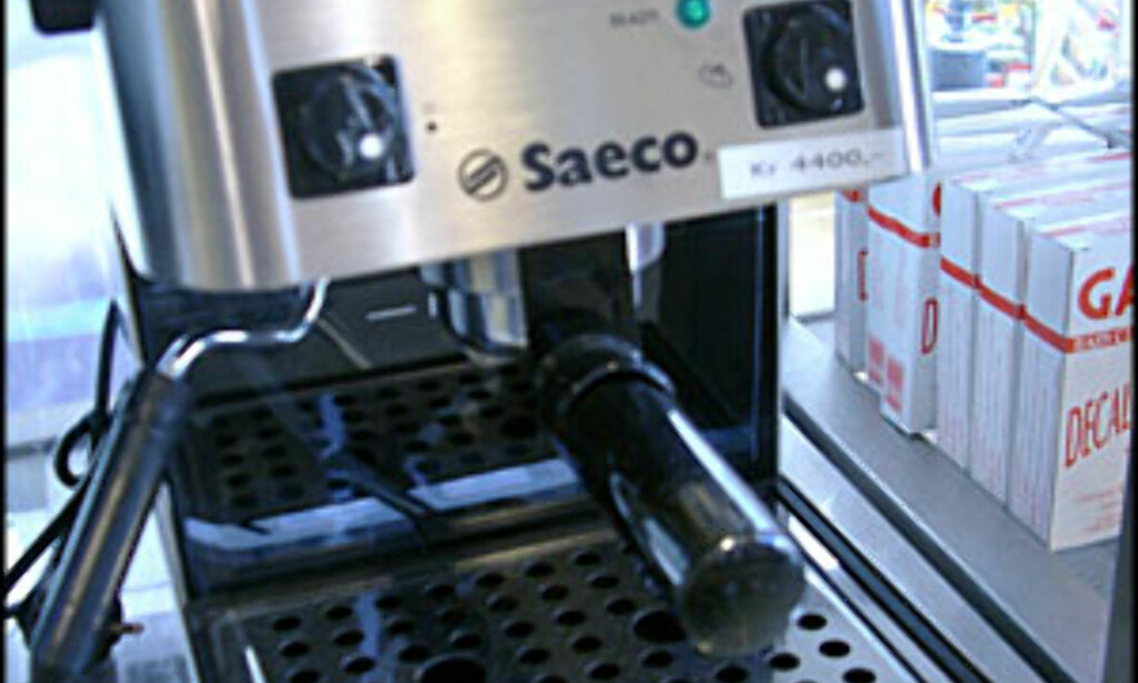 image: BILLEDSPESIAL: Espressomaskiner++