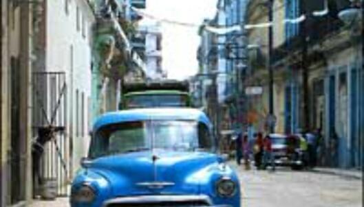 Gammel men stilig, akkurat som mange ting her på Cuba. Foto: Lene Heiberg