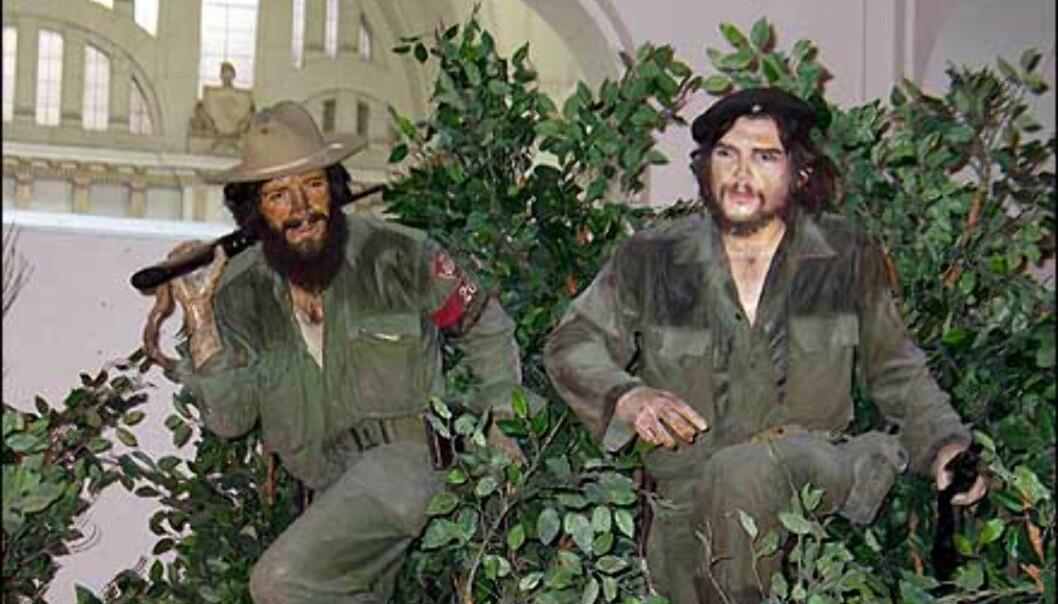 El Che og kompisen Camilo Cienfuegos. Foto: Lene Heiberg