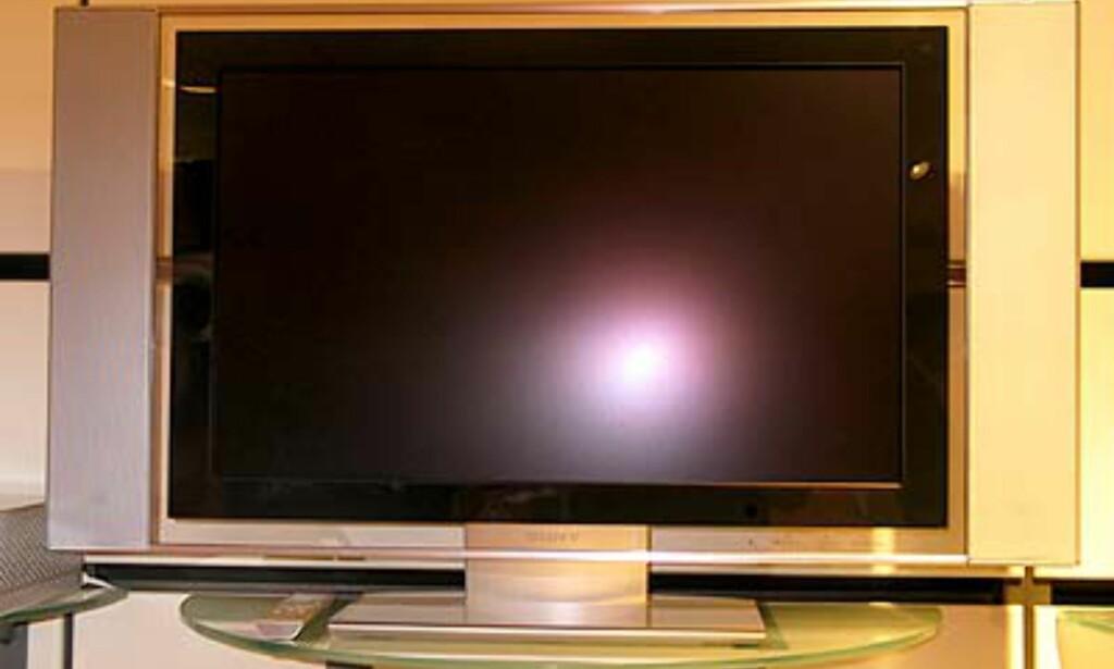 30-tommer på en LCD-skjerm tilsvarer en 32-tommers billedrørs-TV.