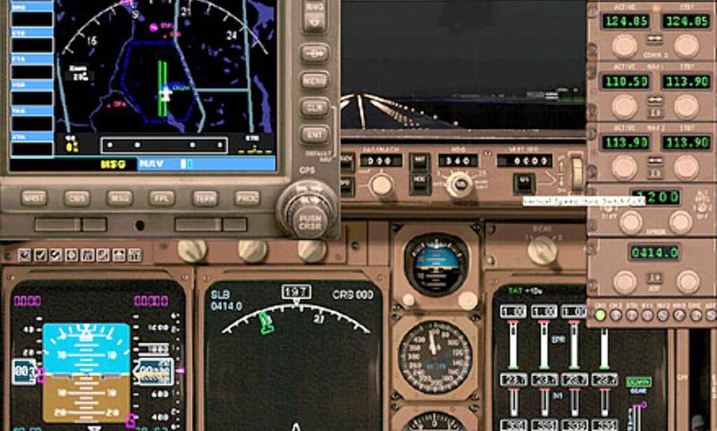 Øverst til venstre, den nye GPS-enheten