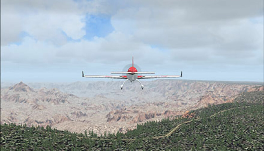 På kanten av Grand Canyon