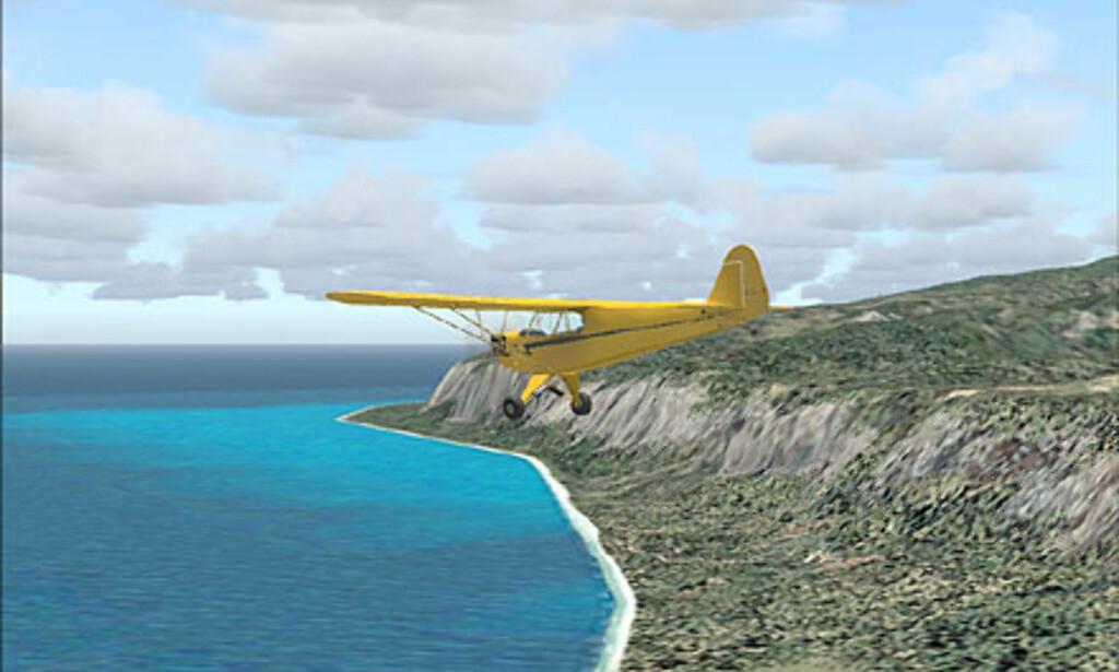 image: Skjermbilder fra Flight Simulator 2004