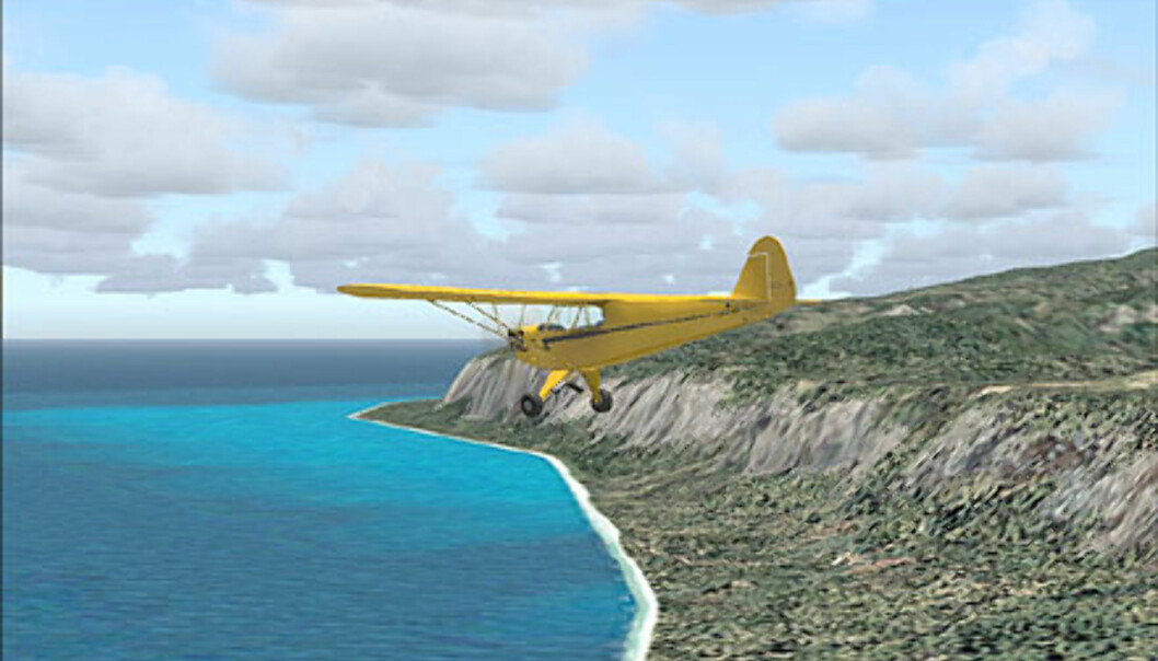 Skjermbilder fra Flight Simulator 2004