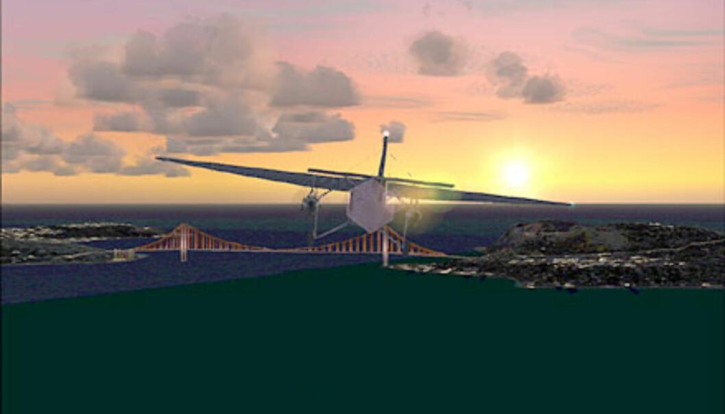 Solnedgang over San Francisco