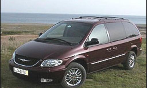 FØRST: Chrysler Voyager ble lansert allerede i 1983 og grunnla en ny bilklasse.