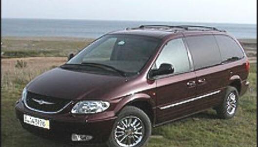 <strong>FØRST:</strong> Chrysler Voyager ble lansert allerede i 1983 og grunnla en ny bilklasse.
