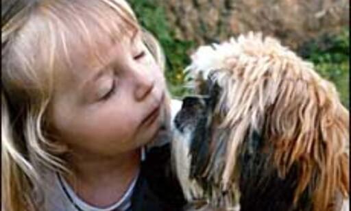 Vått kyss. Foto: Nina Johnsen  Foto: Nina Johnsen