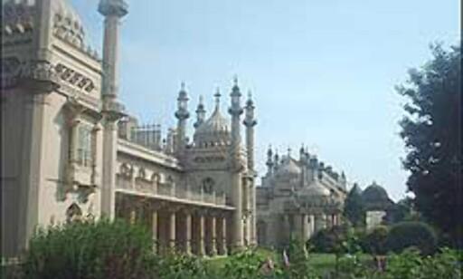 Den kongelige paviljongen er østlig inspirert. Foto: Stine Okkelmo