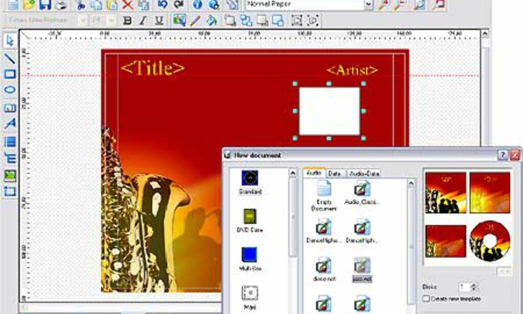 image: Skjermbilder fra Nero Burning ROM 6.0