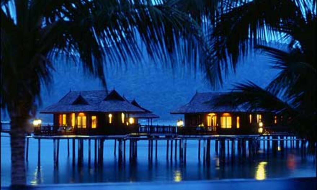 Malaysisk kveld i luksus på Pangkor Laut. Foto: Pangkor Laut Foto: Pangkor Laut