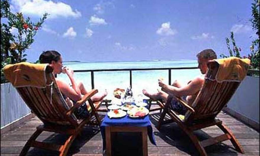 Villa Hotels har flere feriesteder på Maldivene. Dette er fra Sun Island, South Ari Atoll. Foto: Villa Hotels Foto: Villa Hotels
