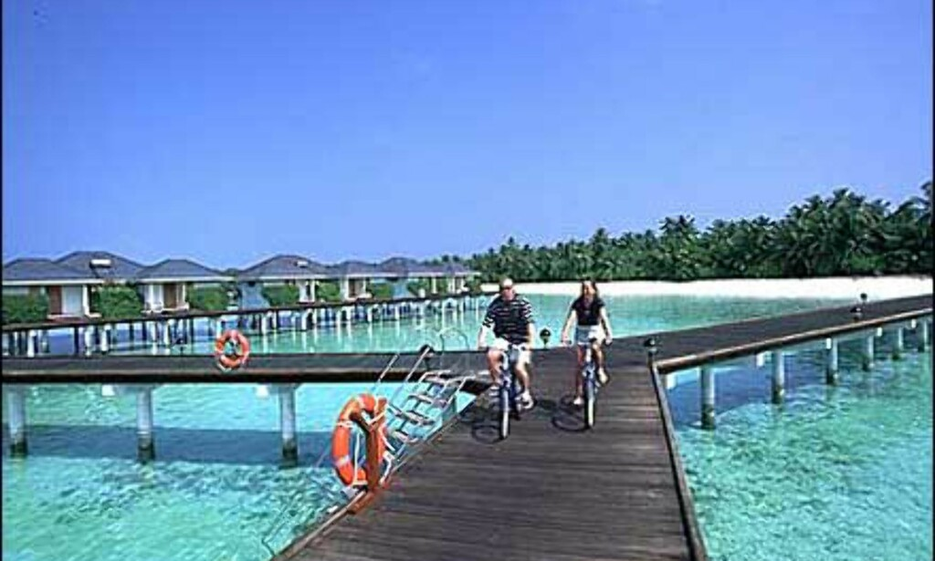 Sykkelturisme? Sun Island. Foto: Villa Hotels Foto: Villa Hotels