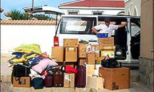 Går alt dette i bilen? Se de store bildene, og få svar. Foto: Eva S. Halmrast Foto: Eva S. Halmrast