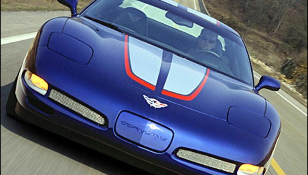 Bilder av den nyeste Corvetten