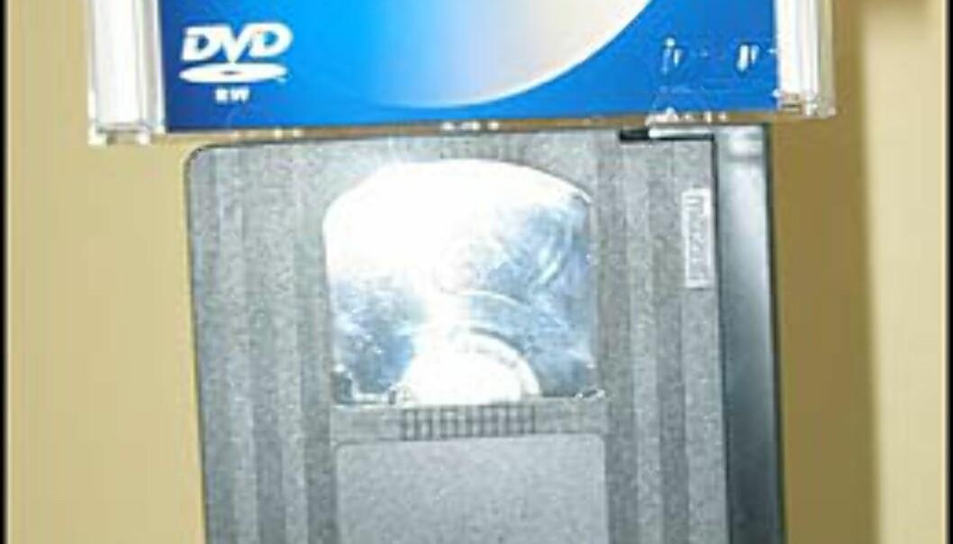 Soleklar seier til DVD-formatet