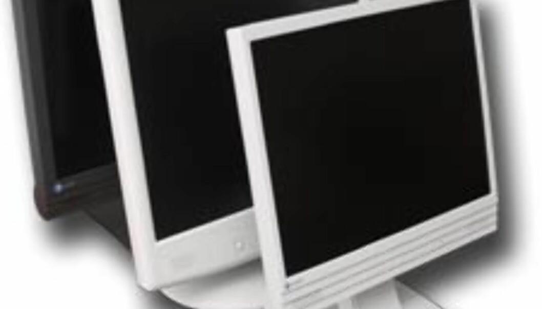 Prisras på LCD-skjermer