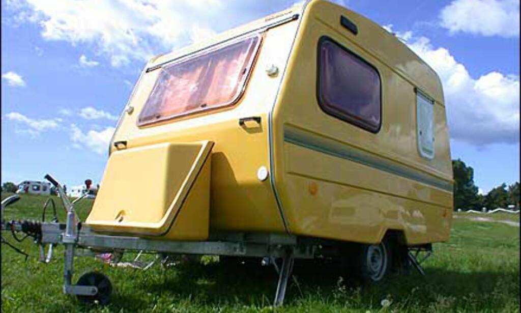 Skikkelig gladvogn observert på Ekeberg Camping.