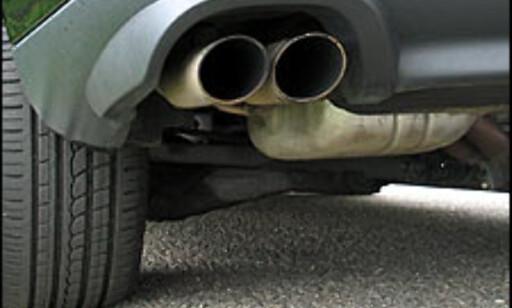 Disse to rørene avslører hvilken motor du har.