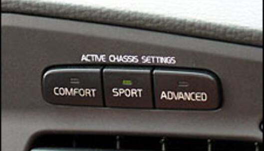 Vindunderknappene sitter øverst i midtkonsollen. Her er du kun et tastetrykk unna de forskjellige innstillingene.