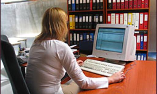 Produktivt arbeidssted eller en som ikke jobber? Foto: Inga Holst