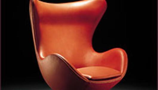 Arne Jacobsens stol <I>Æget</I> har blitt ett eksklusivt samleobjekt.<br /> <br /> <I>Foto: ArneJacobsen.com</I> Foto:  ArneJacobsen.com