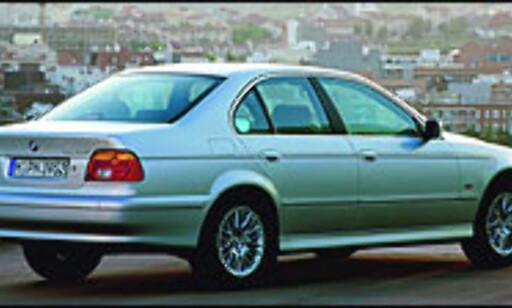 image: Også BMW med lang utstyrsliste
