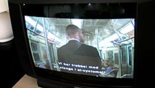 Bildekvaliteten på DivX-filmene var meget bra, og vi opplevde ingen problemer med hakking.