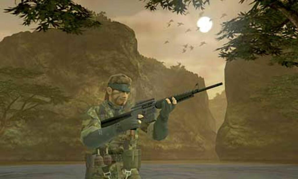 image: Metal Gear Solid 3: Snake er tilbake