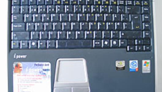 Tastaturet er blant de største vi har sett på bærbare PCer.