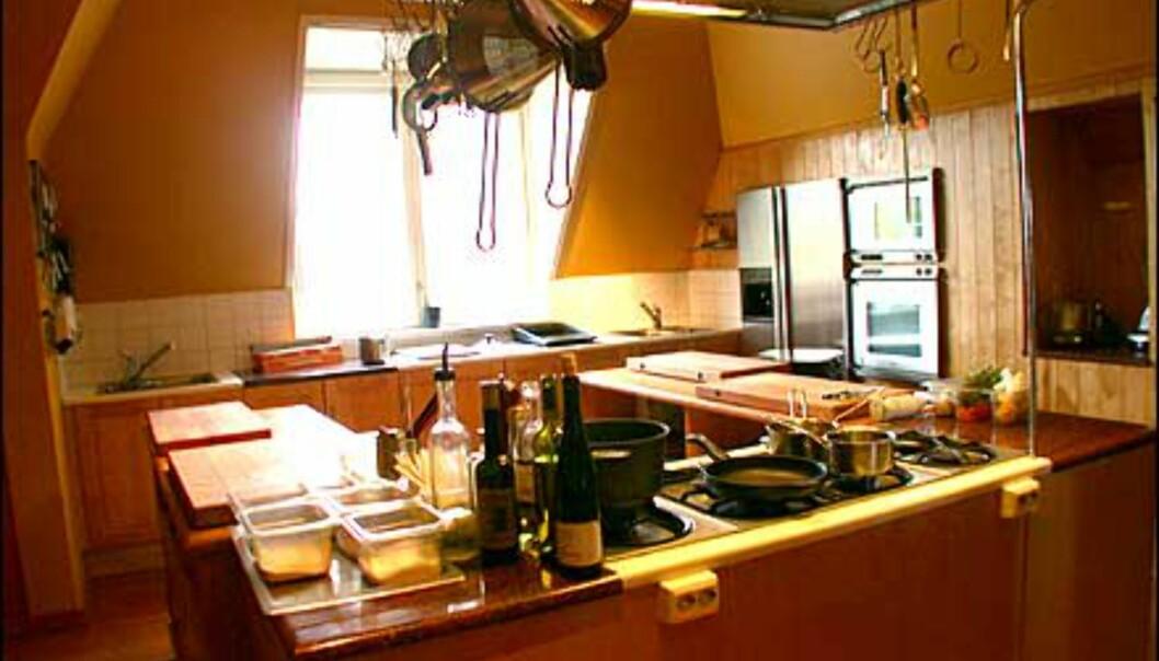 Restauranten har hatt stor suksess med sine kokkekurs, som drives i et nyinnredet lokale på loftet.
