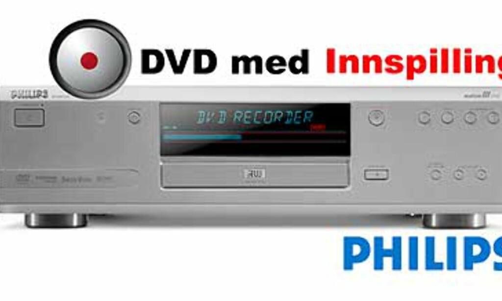 Philips DVDR 990