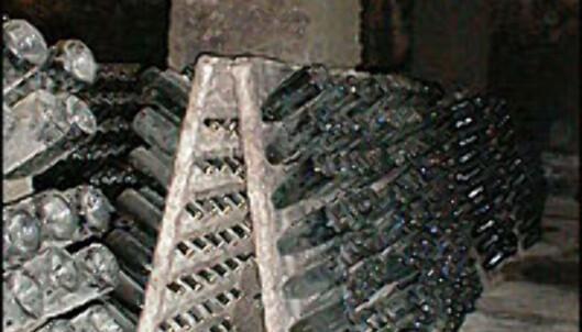 Fremtidig cava til lagring i <I>pupitros</I> i Freixenets kjeller.<br /> <I>Foto: Inga Ragnhild Holst</I> Foto: Inga Ragnhild Holst