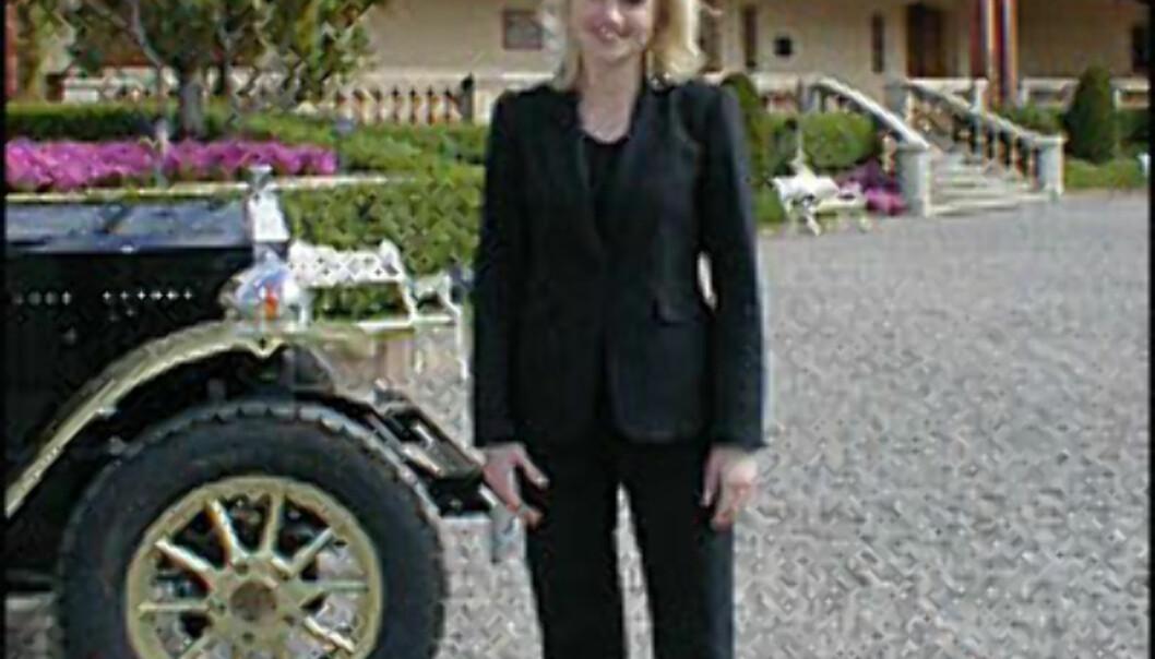 Line Høstmælingen (26) jobber som markedskoordinator på cavabodegaen Freixenet i Spania.<br /> <I>Foto: Inga Raghild Holst</I> Foto: Inga Raghild Holst