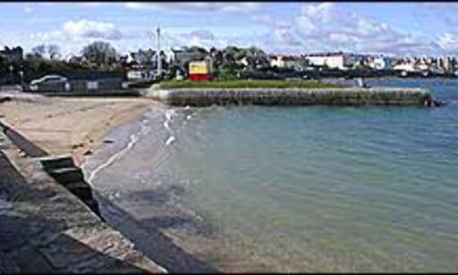 Vakre strender i Dun Laoghaire, litt nord for Dalkey. Her kan du også ta katamaranen til Wales.