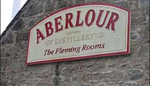Selvtapping hos Aberlour kan man gjøre hele året, også under whiskyfestivalen.
