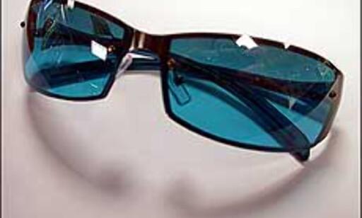 Briller som ligger godt inntil ansiktet beskytter bedre mot solstrålene enn mindre briller.